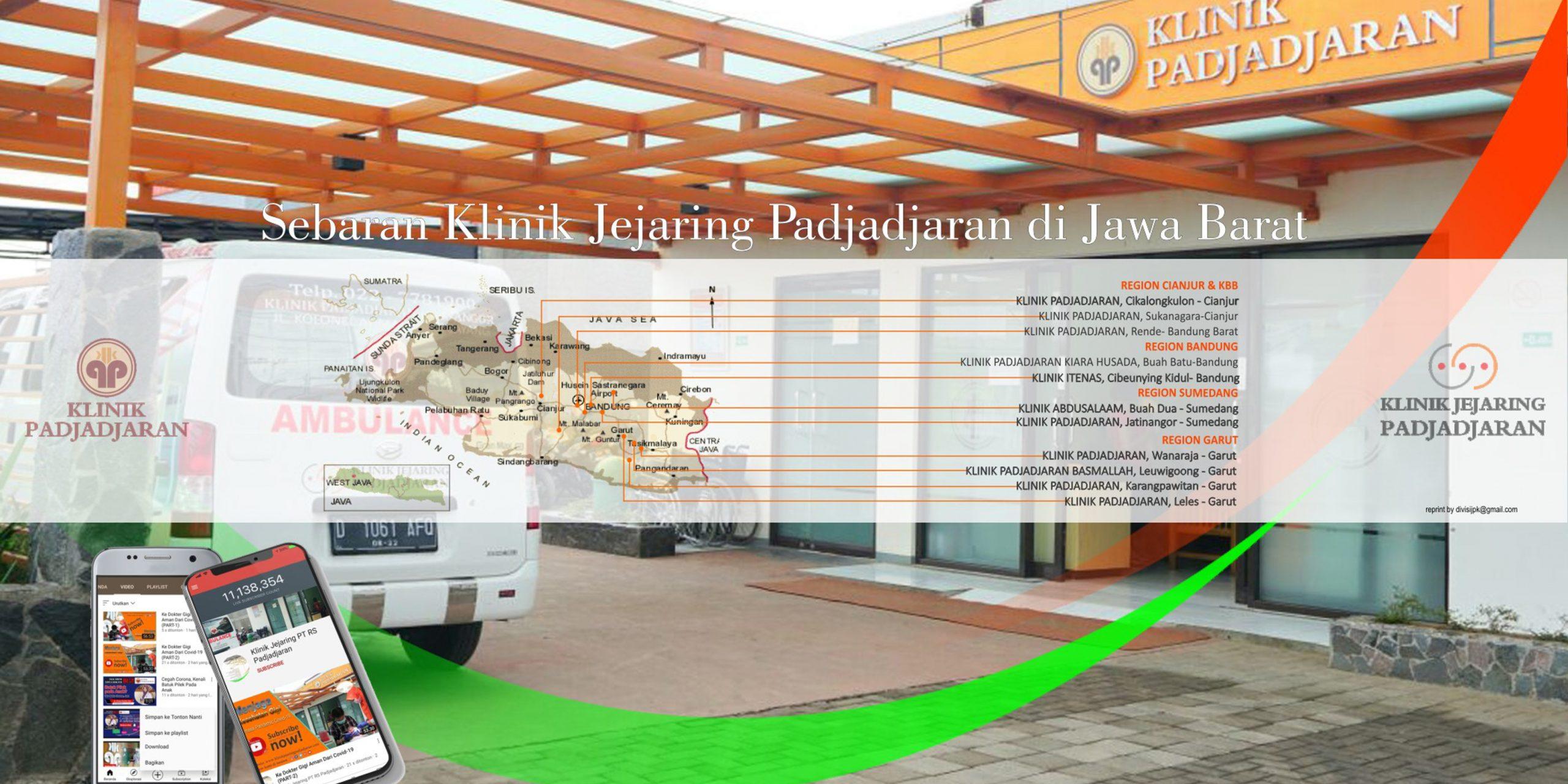 Klinik Jejaring Padjadjaran Map